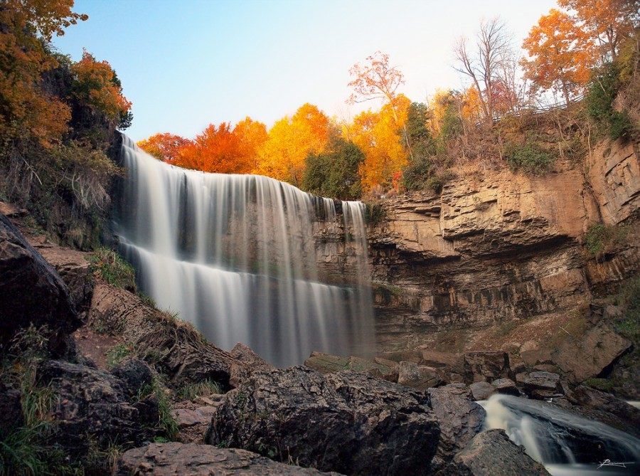 Webster's Fall, Hamilton, Ontario - photo by Paul Bica