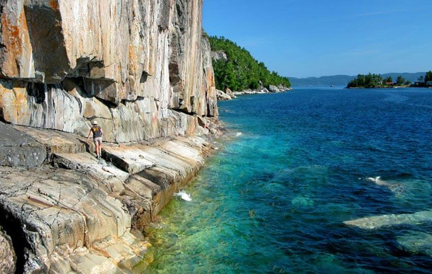 Agawa Rock, Lake Superior, Ontario