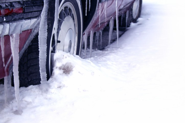 Winter Effects on Vehicle CAA