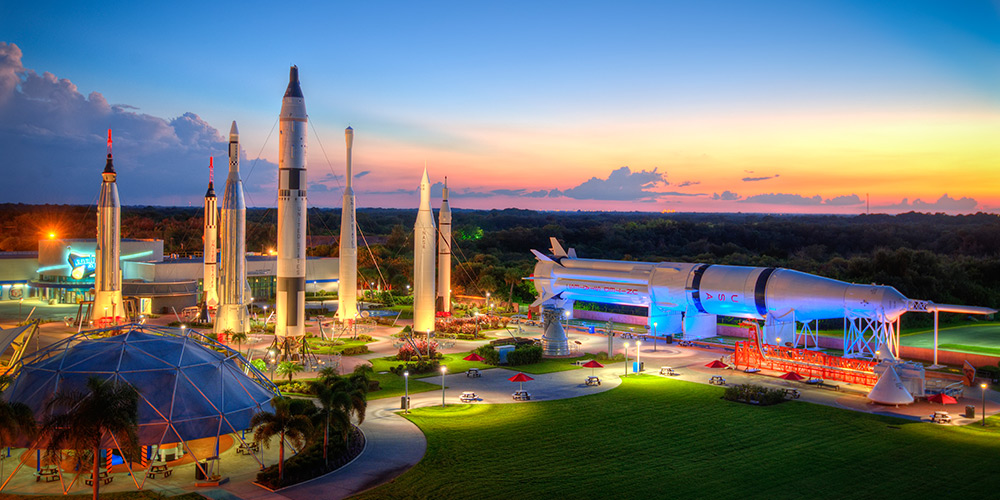 Kennedy Space Centre Rocket Garden