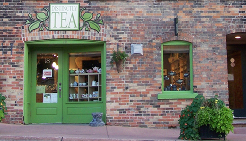 Distinctly Tea shop in Stratford Ontario