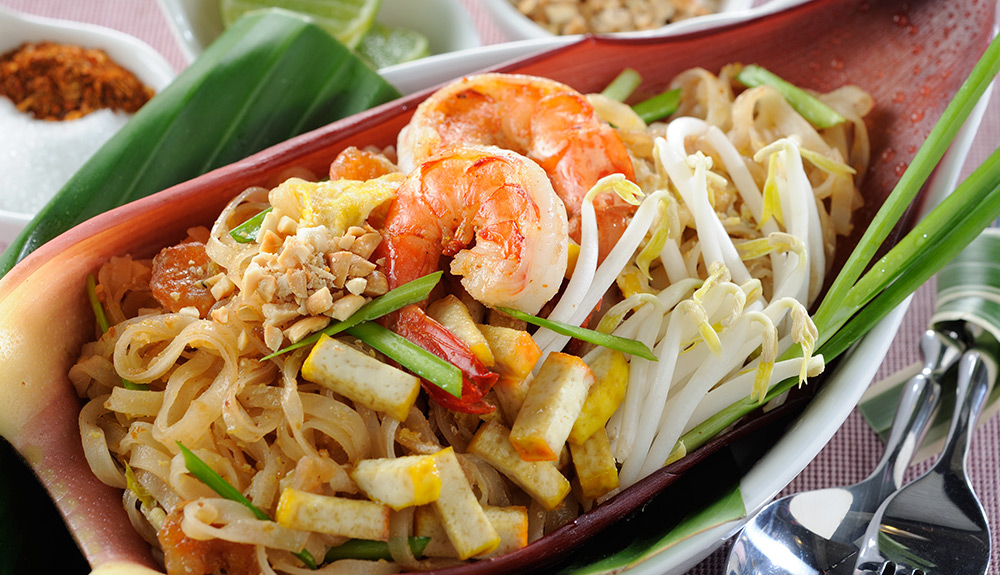Shrimp Pad Thai at Mango Tree Bistro