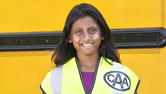 School safety bus patroller.