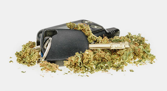 Cannabis and car keys