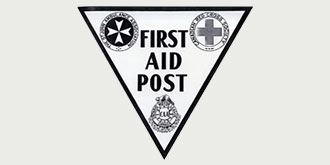 Logo of First Aid Post from 1934