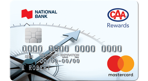 National Bank mastercard