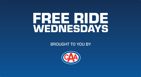 Free Ride Wednesdays