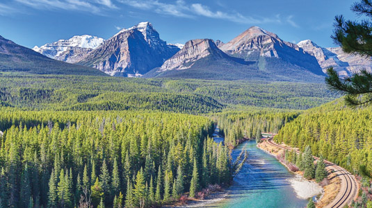 Alberta Mountains, Lakes and Parks Discovered