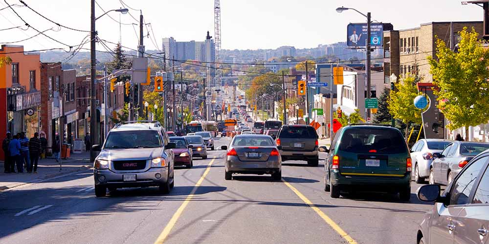 Eglinton Avenue East was voted CAA's Worst Road of 2019 for its traffic
