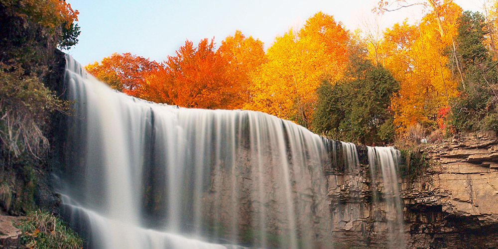6 of the very best waterfalls you can easily access in ontario caa