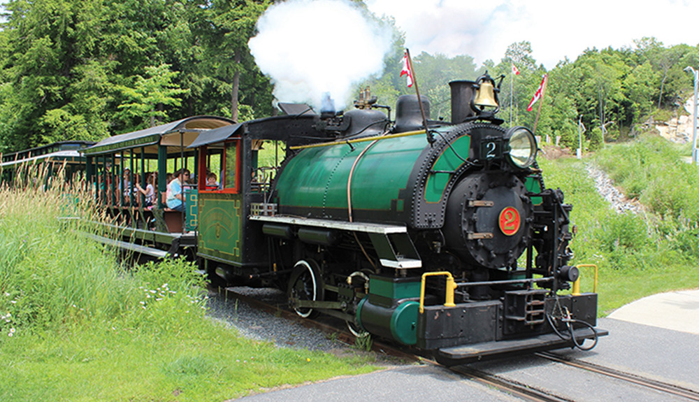 Ride the World's Smallest Commercial Railroad